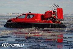 Тест-драйв СВП Christy Hovercraft в сложных погодных условиях | фото №10
