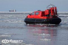 Тест-драйв СВП Christy Hovercraft в сложных погодных условиях | фото №12