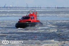 Тест-драйв СВП Christy Hovercraft в сложных погодных условиях | фото №15
