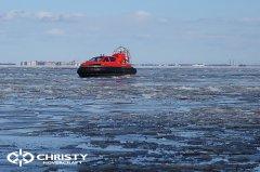 Тест-драйв СВП Christy Hovercraft в сложных погодных условиях | фото №23