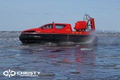 Тест-драйв СВП Christy Hovercraft в сложных погодных условиях | фото №25