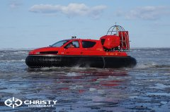 Тест-драйв СВП Christy Hovercraft в сложных погодных условиях | фото №26