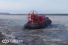 Тест-драйв СВП Christy Hovercraft в сложных погодных условиях | фото №29