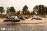 Катера на воздушной подушке Christy Hovercraft - Презентация МЧС | фото №10