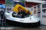 Участие в выставках и различных презентациях Демонстрация катеров и судов на воздушной подушке Проводимые акции и мероприятия компанией Christy Hovercraft