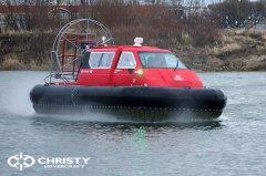 Hovercraft Christy 555 с полной кабиной | фото №4
