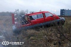 Hovercraft Christy 555 с полной кабиной | фото №11