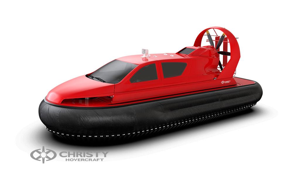 Фотография судна на воздушной подушке Christy 8199L моделирование в 3DMax