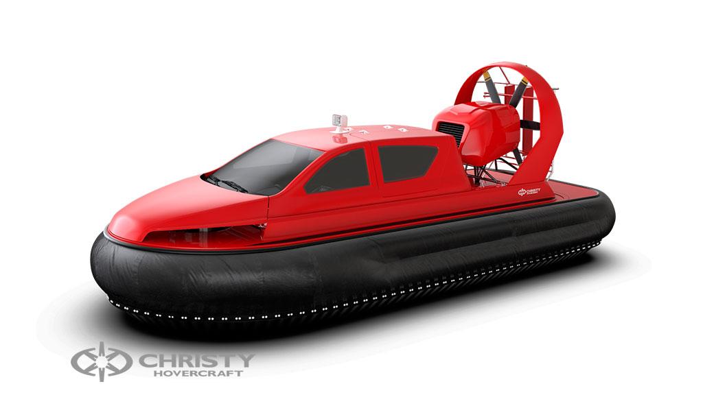 Фотография судна на воздушной подушке Christy 8199L моделирование в 3DMax | фото №5