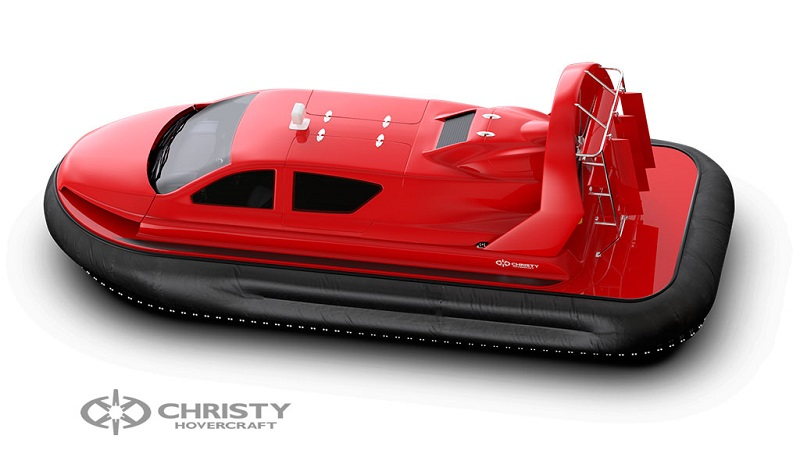 Фотография судна на воздушной подушке Christy 8199L моделирование в 3DMax | фото №7