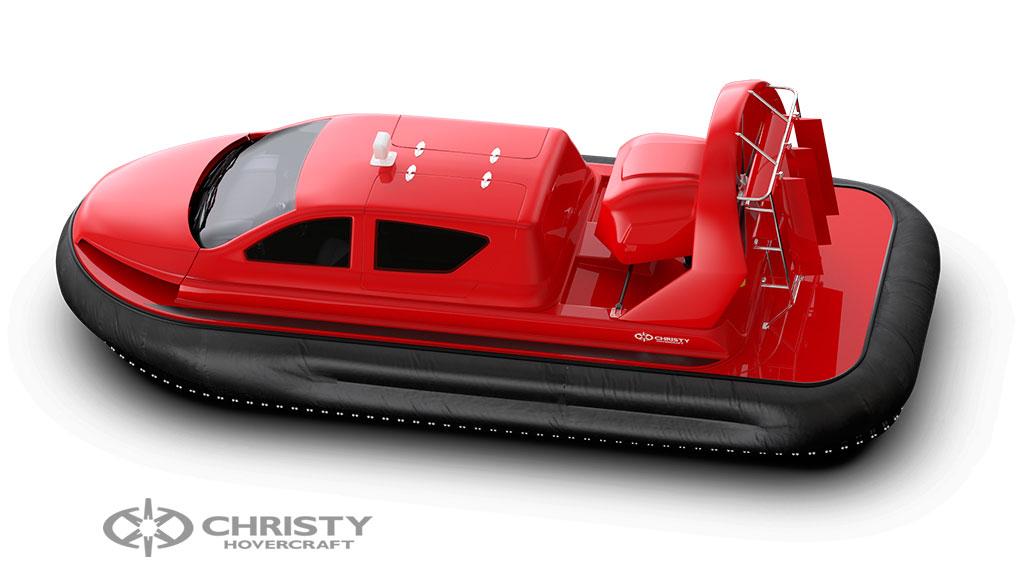 Фотография судна на воздушной подушке Christy 8199L моделирование в 3DMax | фото №8