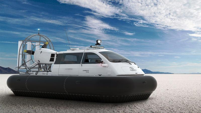 New hovercraft Christy 5146