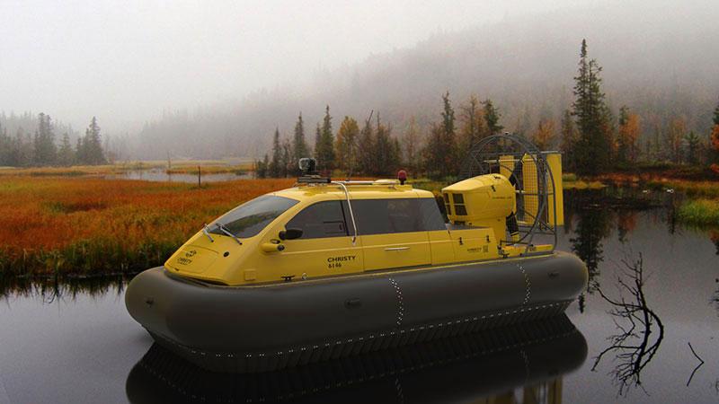 New hovercraft Christy 6146