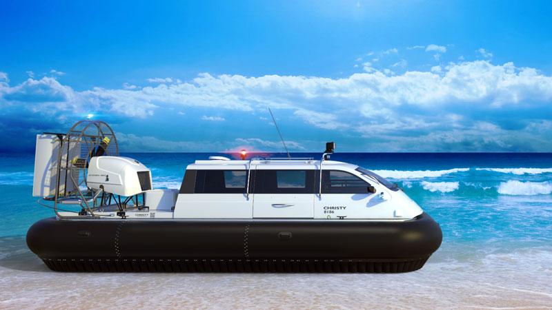 New hovercraft Christy 8183