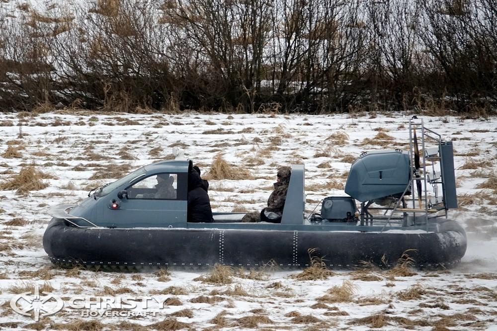 Новая модель амфибии на воздушной подушке Christy 7183 PC