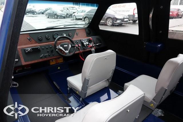 Тест-драйв катера Christy 458 FC (555 FC) | фото №4