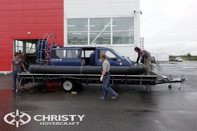 Тест-драйв катера Christy 458 FC (555 FC) | фото №1
