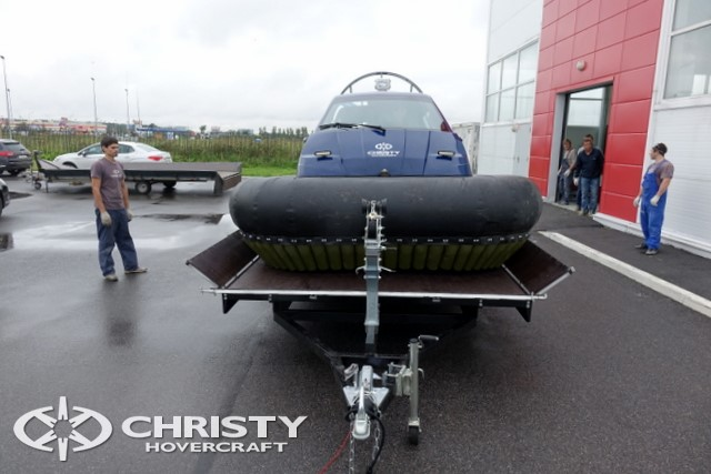 Тест-драйв катера Christy 458 FC (555 FC) | фото №3