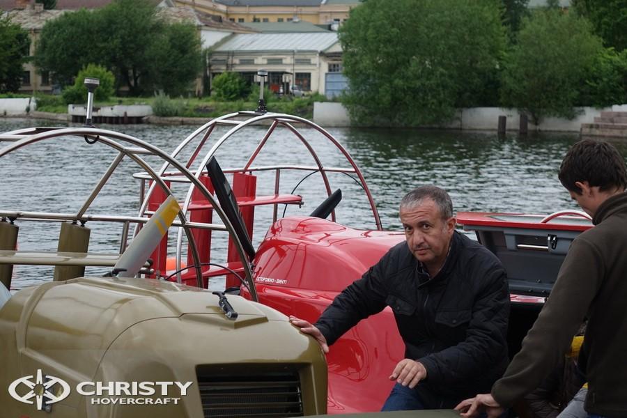 Испытания судов-амфибий Christy | фото №10