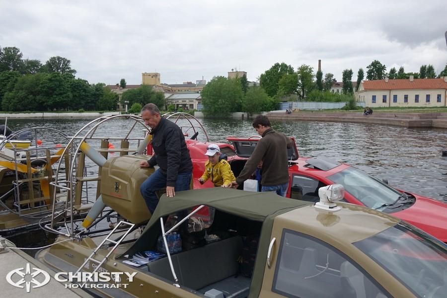Испытания судов-амфибий Christy | фото №11