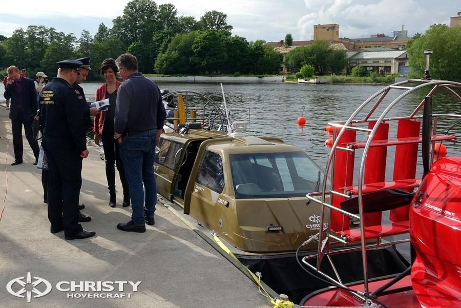 Испытания судов-амфибий Christy | фото №2