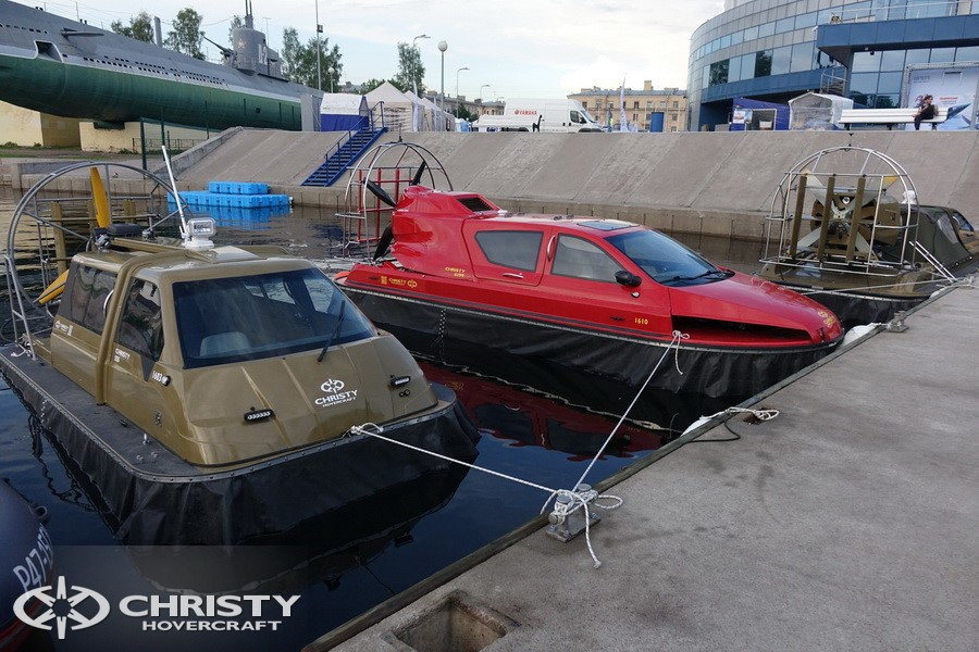 Испытания судов-амфибий Christy | фото №6