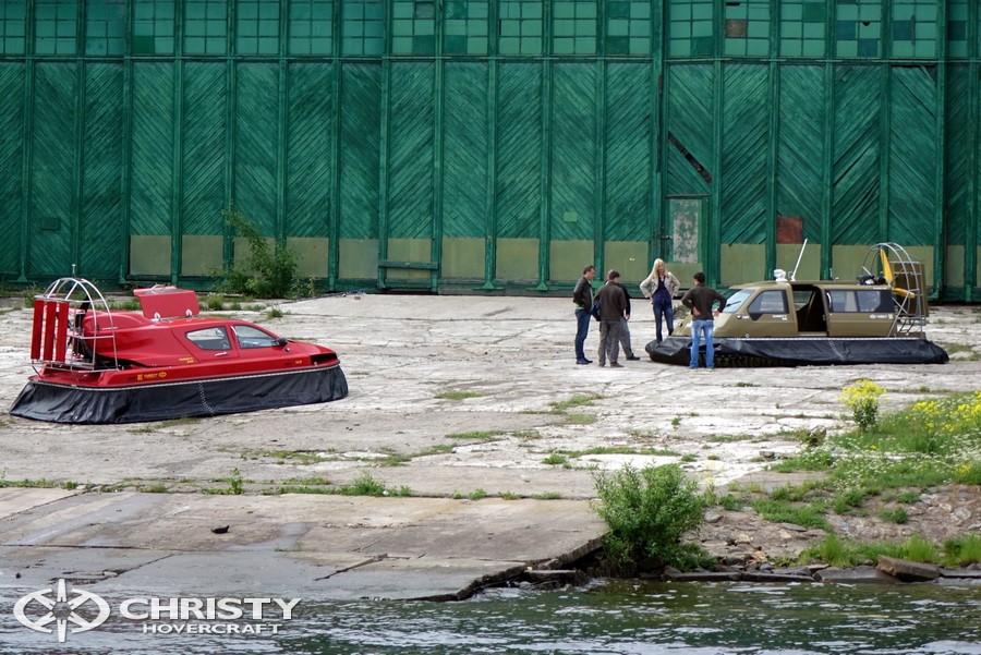 Испытания судов-амфибий Christy | фото №9