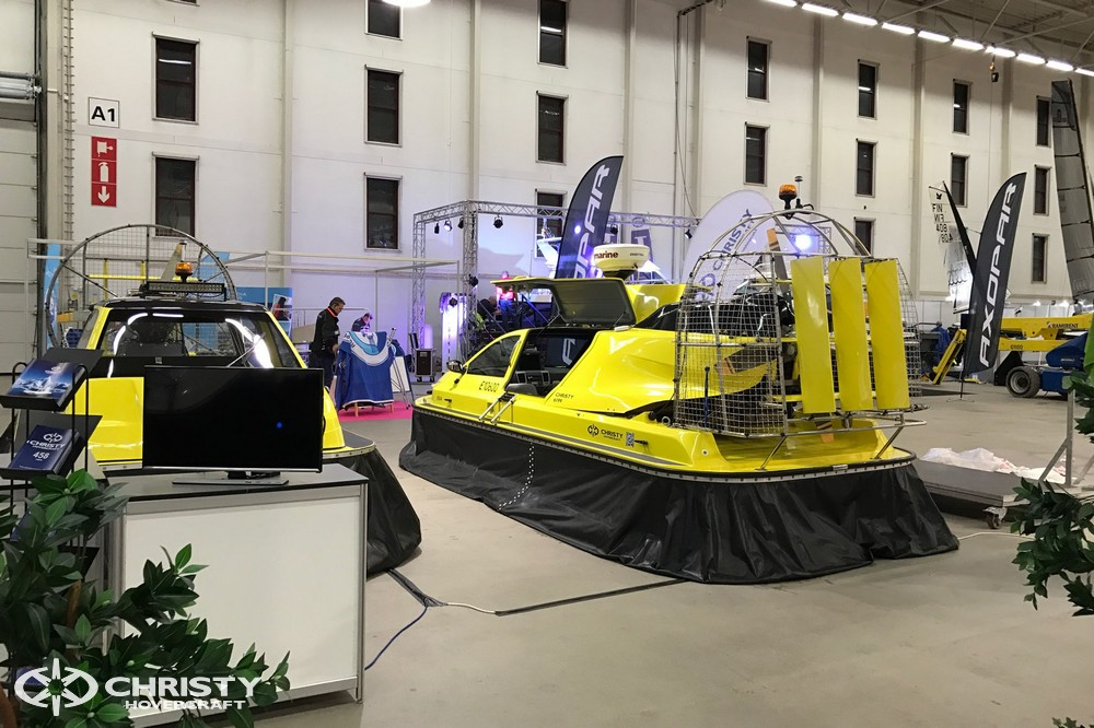 Christy Hovercraft на выставке Venexpo в Турку 2017 | фото №2