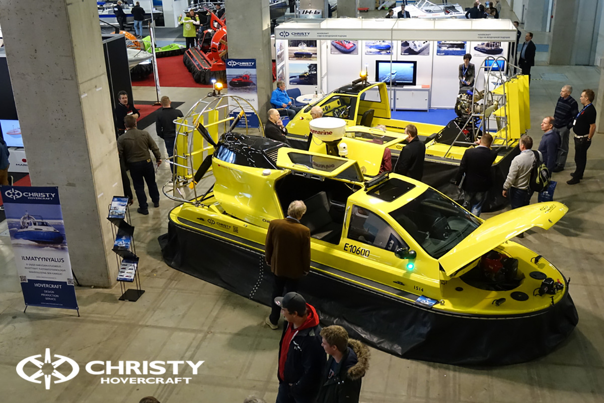 Выставка СВП Christyhovercraft в Хельсинки | фото №1