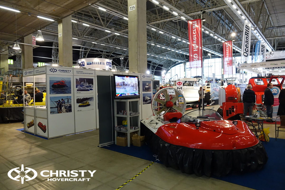 Выставка СВП Christyhovercraft в Хельсинки | фото №7