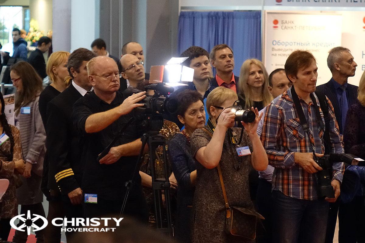 Презентация ховеркрафта Christy 6199 в Ленэкспо | фото №23