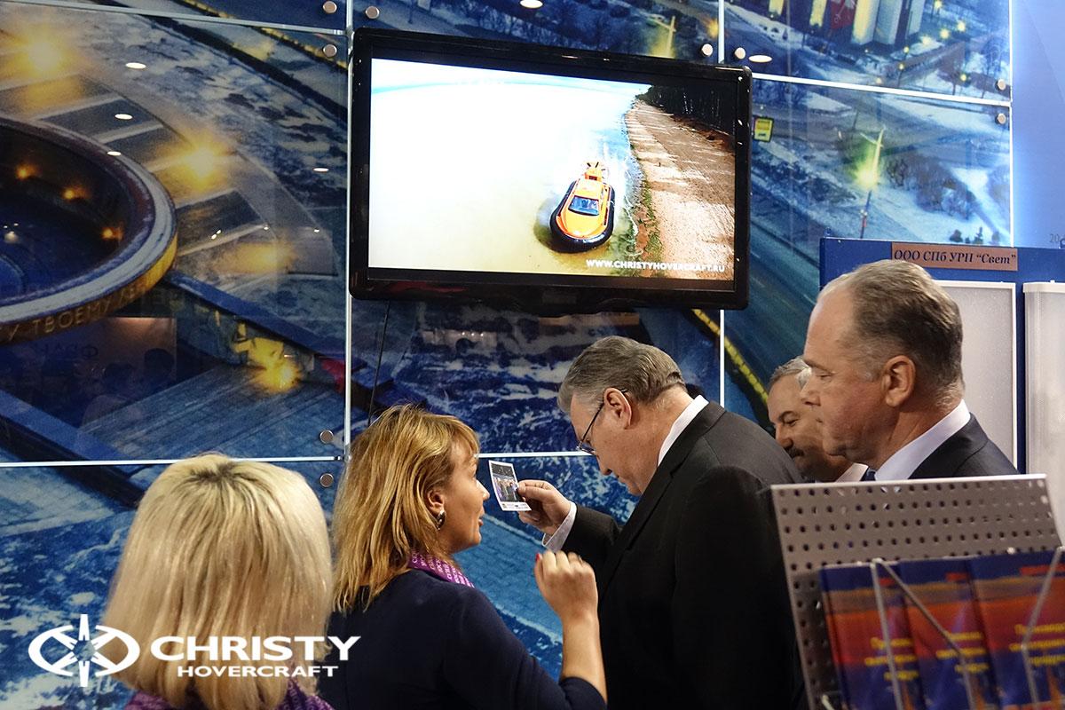 Презентация ховеркрафта Christy 6199 в Ленэкспо | фото №11