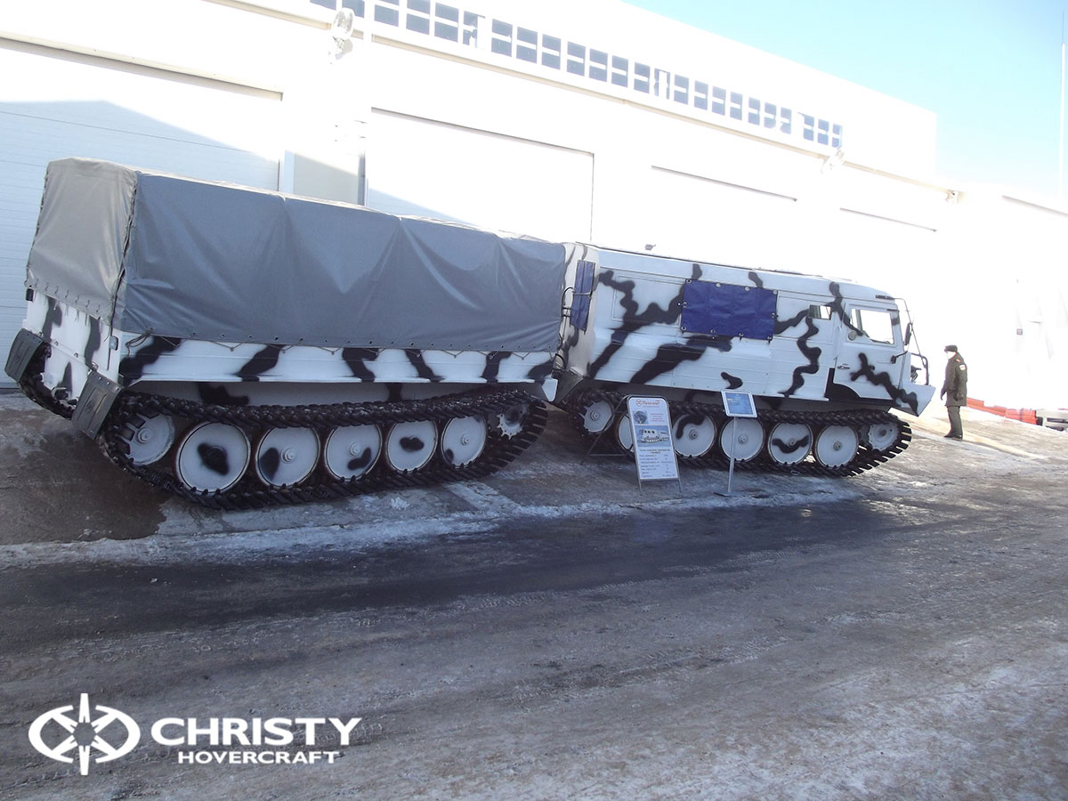 Christy Hovercraft на конференции «Арктика – территория безопасности» | фото №10