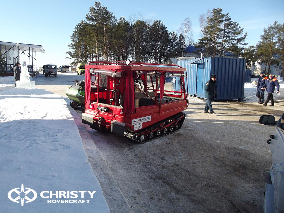 Christy Hovercraft на конференции «Арктика – территория безопасности» | фото №13