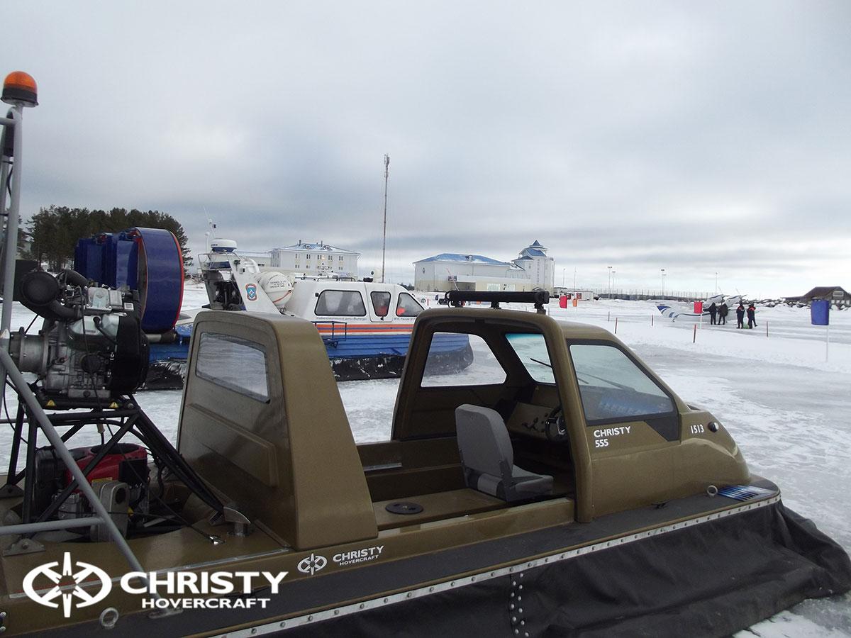 Christy Hovercraft на конференции «Арктика – территория безопасности» | фото №14