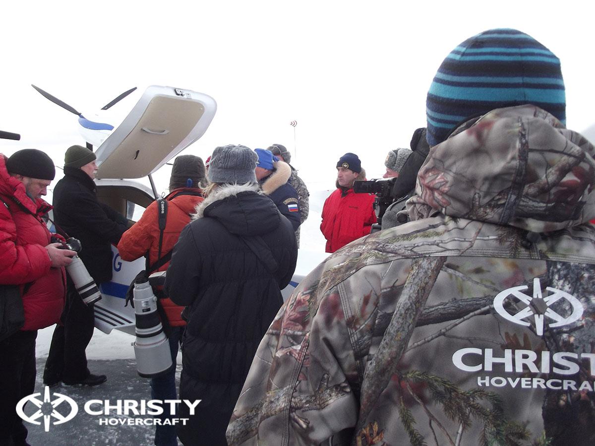 Christy Hovercraft на конференции «Арктика – территория безопасности» | фото №17