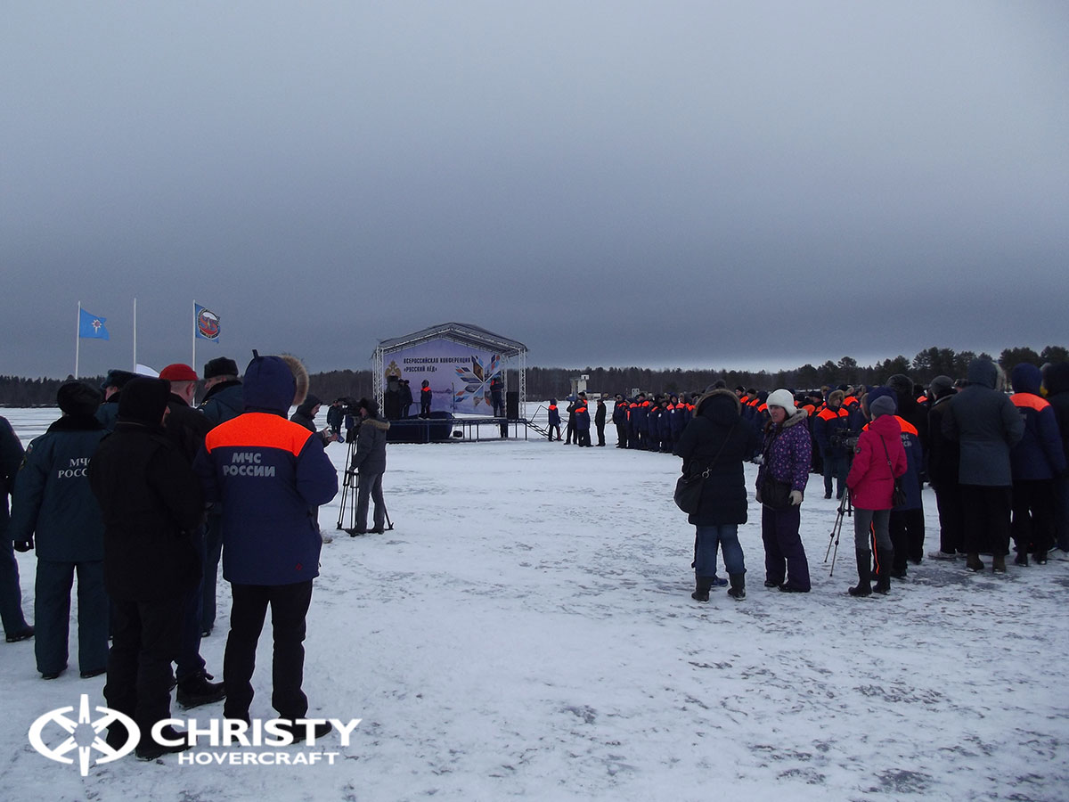 Christy Hovercraft на конференции «Арктика – территория безопасности» | фото №26