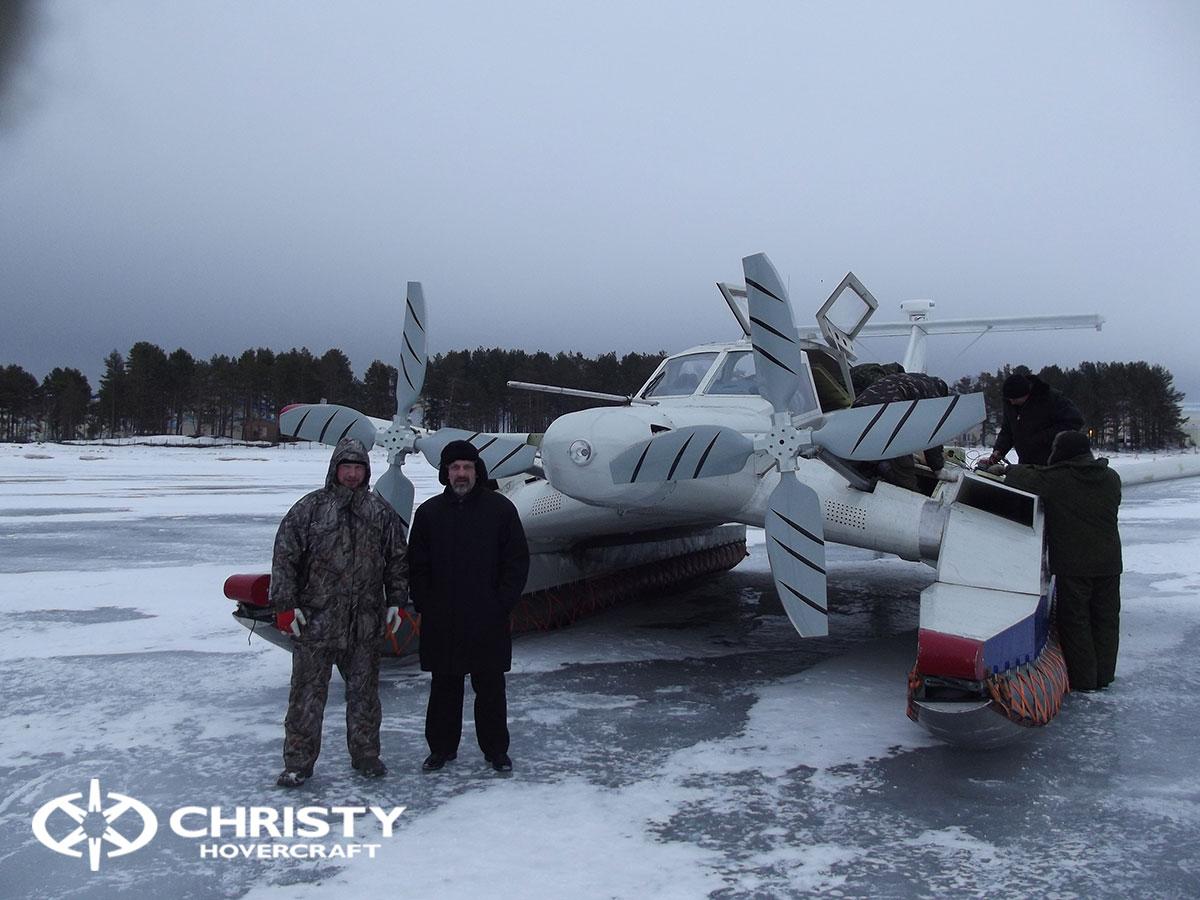 Christy Hovercraft на конференции «Арктика – территория безопасности» | фото №28