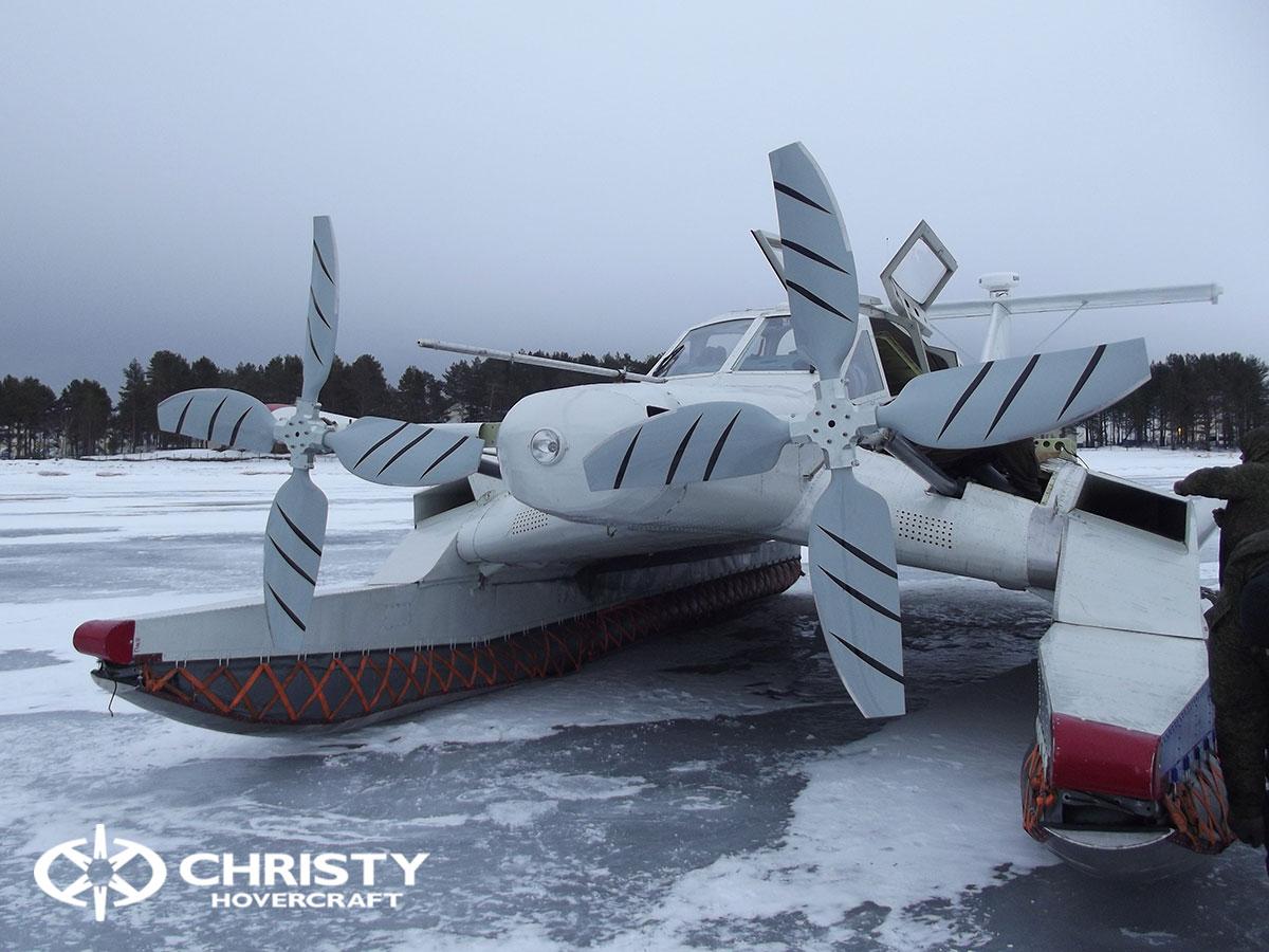 Christy Hovercraft на конференции «Арктика – территория безопасности» | фото №29