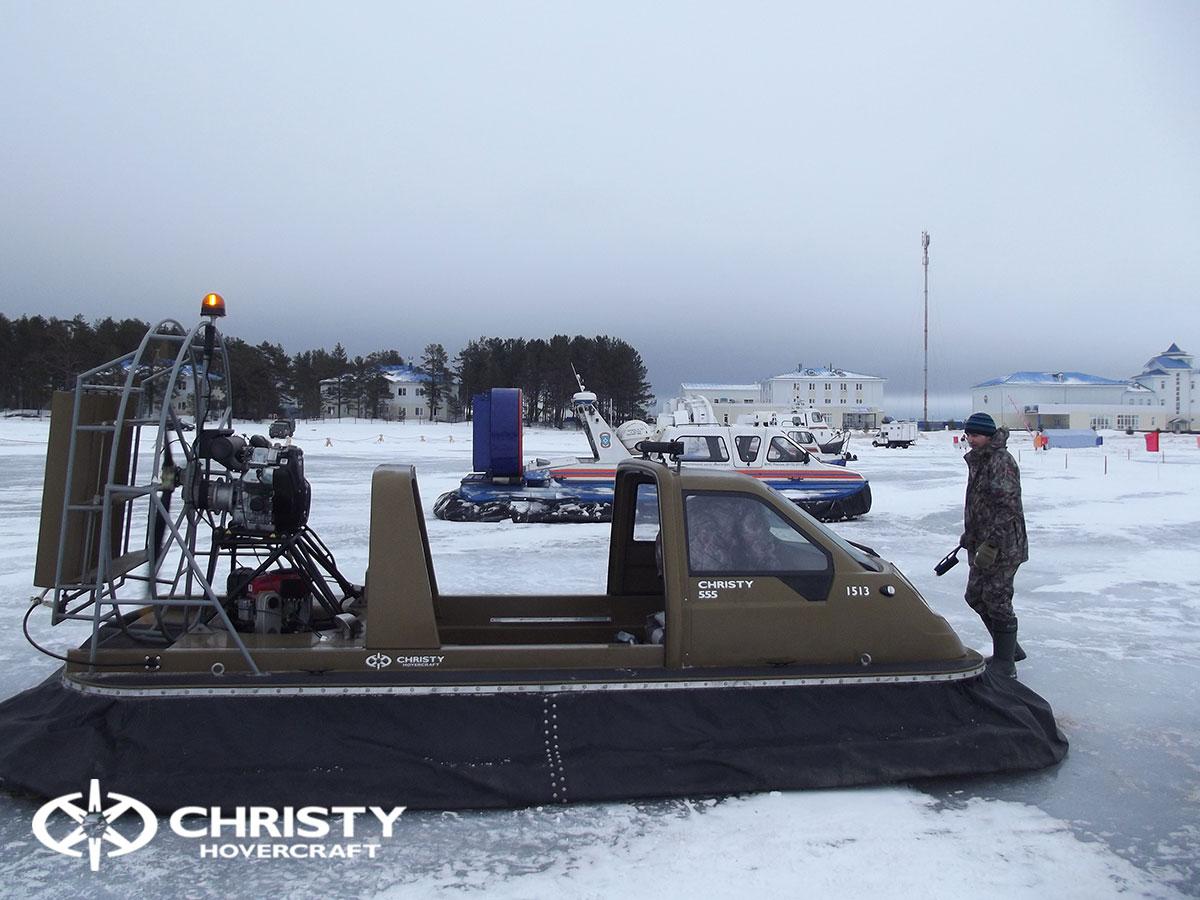 Christy Hovercraft на конференции «Арктика – территория безопасности» | фото №31