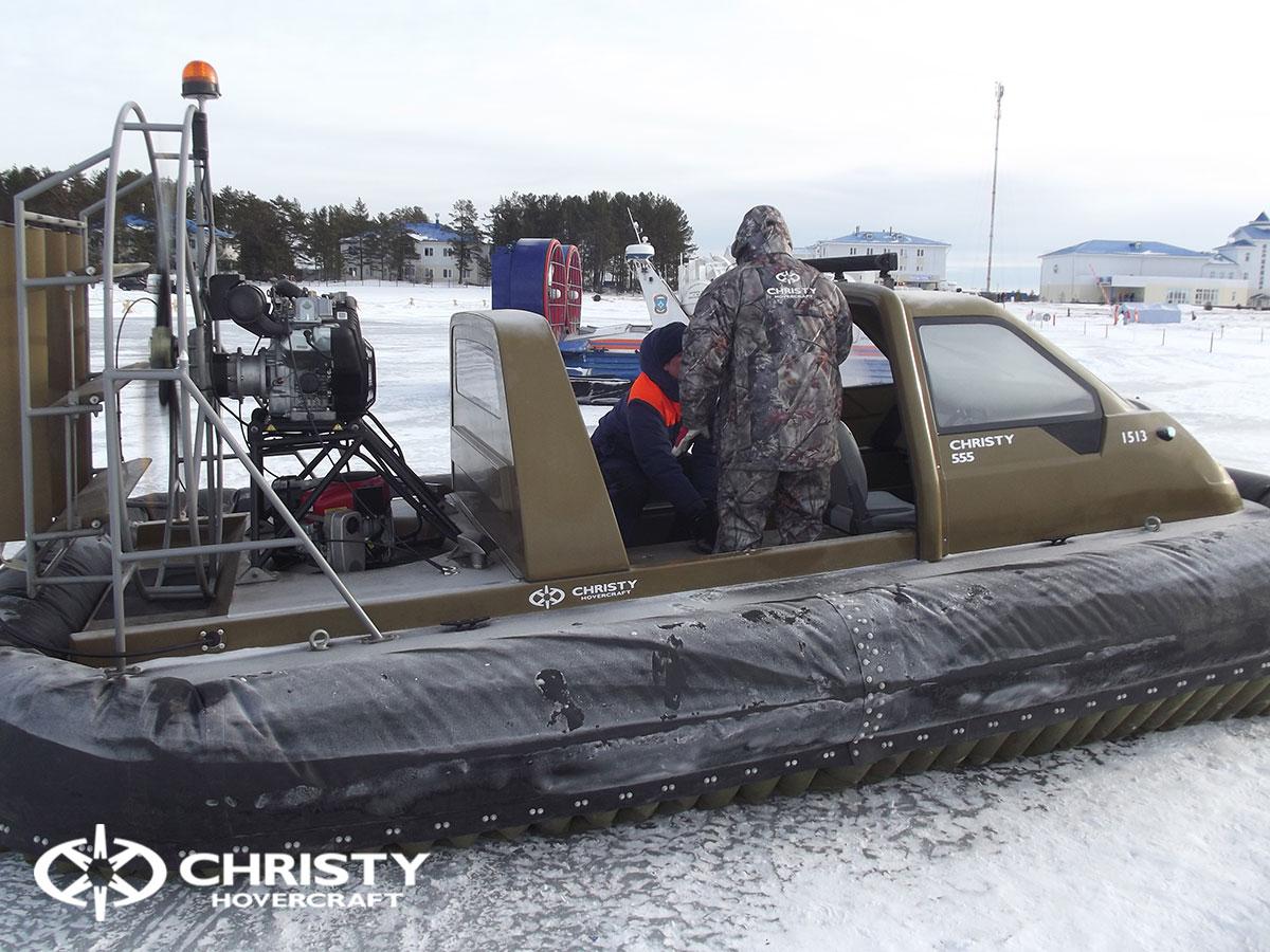 Christy Hovercraft на конференции «Арктика – территория безопасности» | фото №4