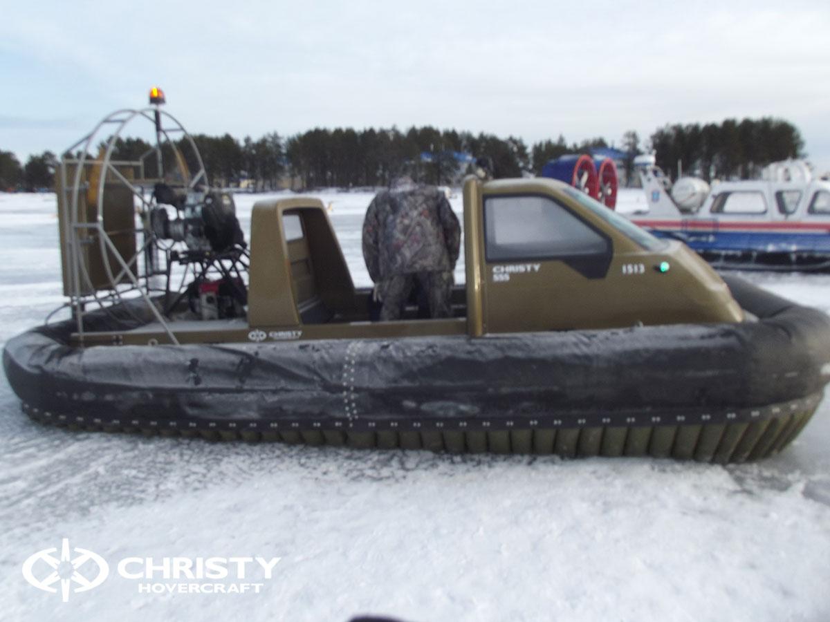 Christy Hovercraft на конференции «Арктика – территория безопасности» | фото №5