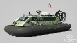 Hovercraft Christy 9204 FC (Peru Coast Guard)
